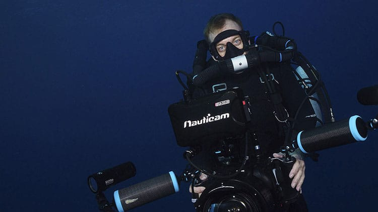 Richard Brooks Underwater cameraman