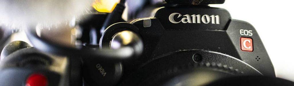 Canon Cinema camera close up